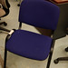 Purple chair E35