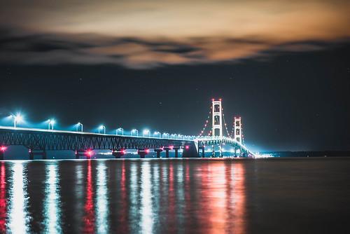 Mackinac Bridge. Photographer Dan Price