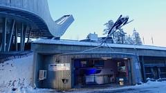 Holmenkollen ski jump, Oslo, Norway, December 2014