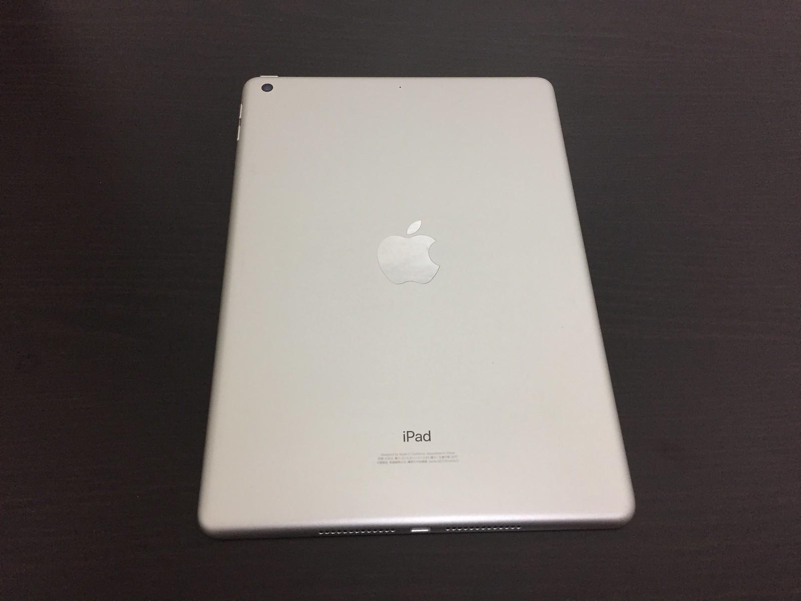 iPad 2017 銀色背面