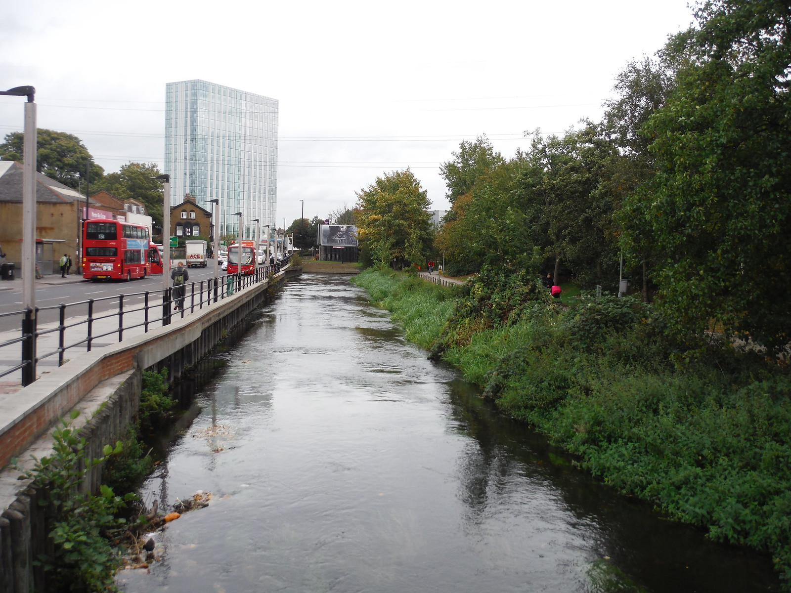 Merton High Street & River Wandle SWC Walk Short 13 - Morden Hall Park and Merton Abbey Mills