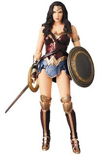 別單打獨鬥,我們必須聯手出擊!MAFEX 正義聯盟【神力女超人】Justice League Wonder Woman