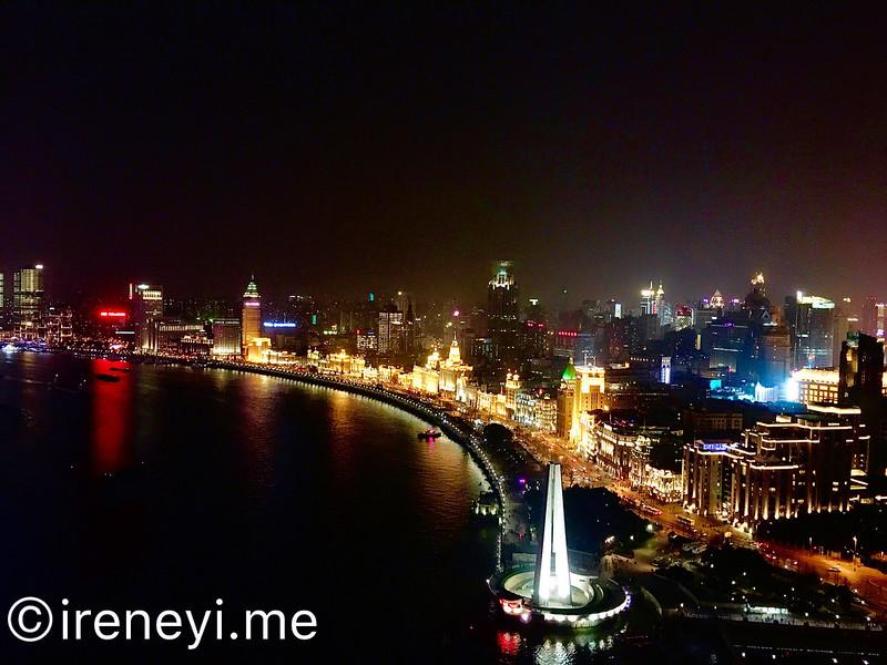 上海夜景酒吧-Vue Bar, 外灘萬國建築群夜景