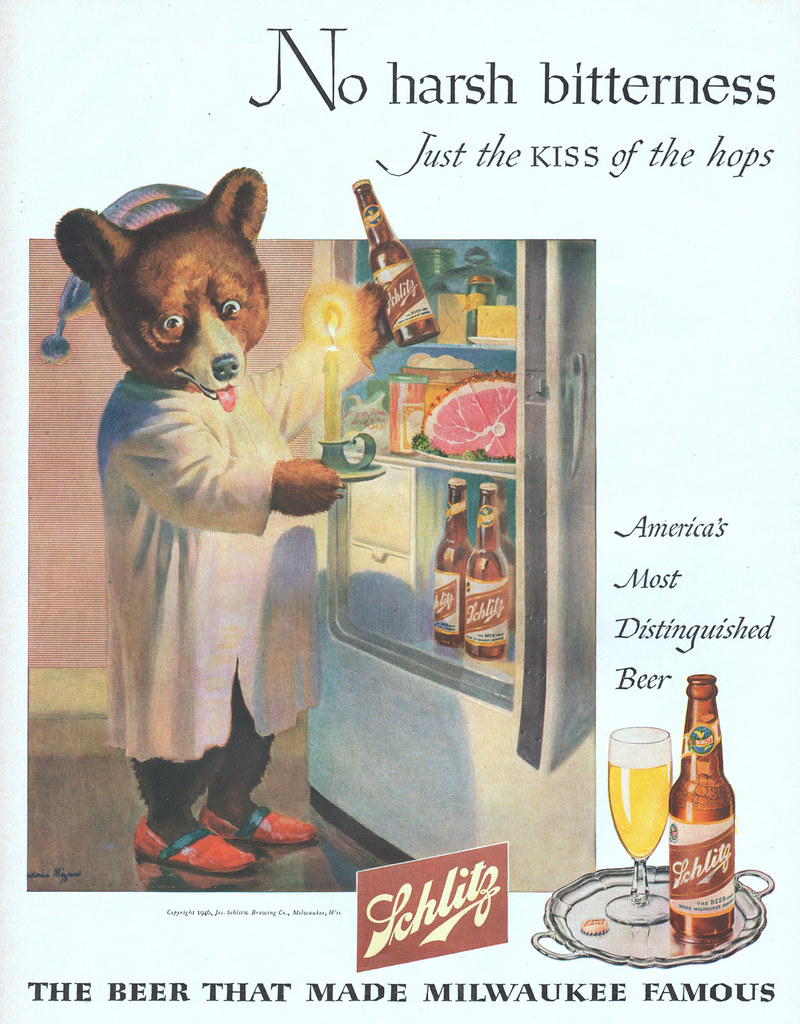 Schlitz-1946-bear