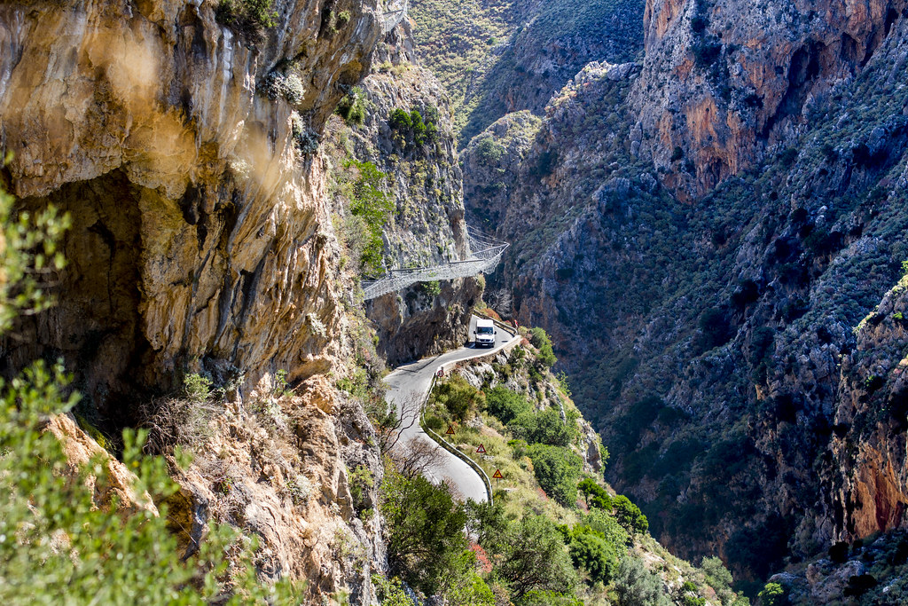 Road to Topolia Gorge - Crete, Greece