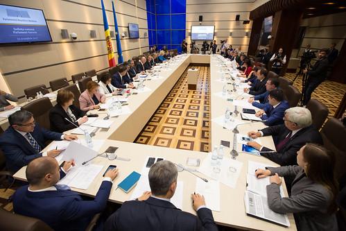 13.10.2017 Ședința comună Parlament - Guvern