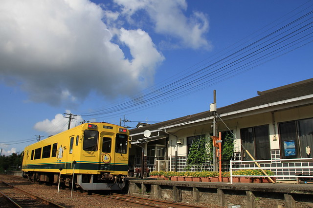 Isumi Type300 at Otaki Station
