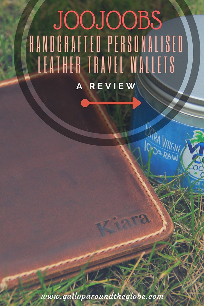 JooJoobs handcrafted personalised leather travel wallets: a review