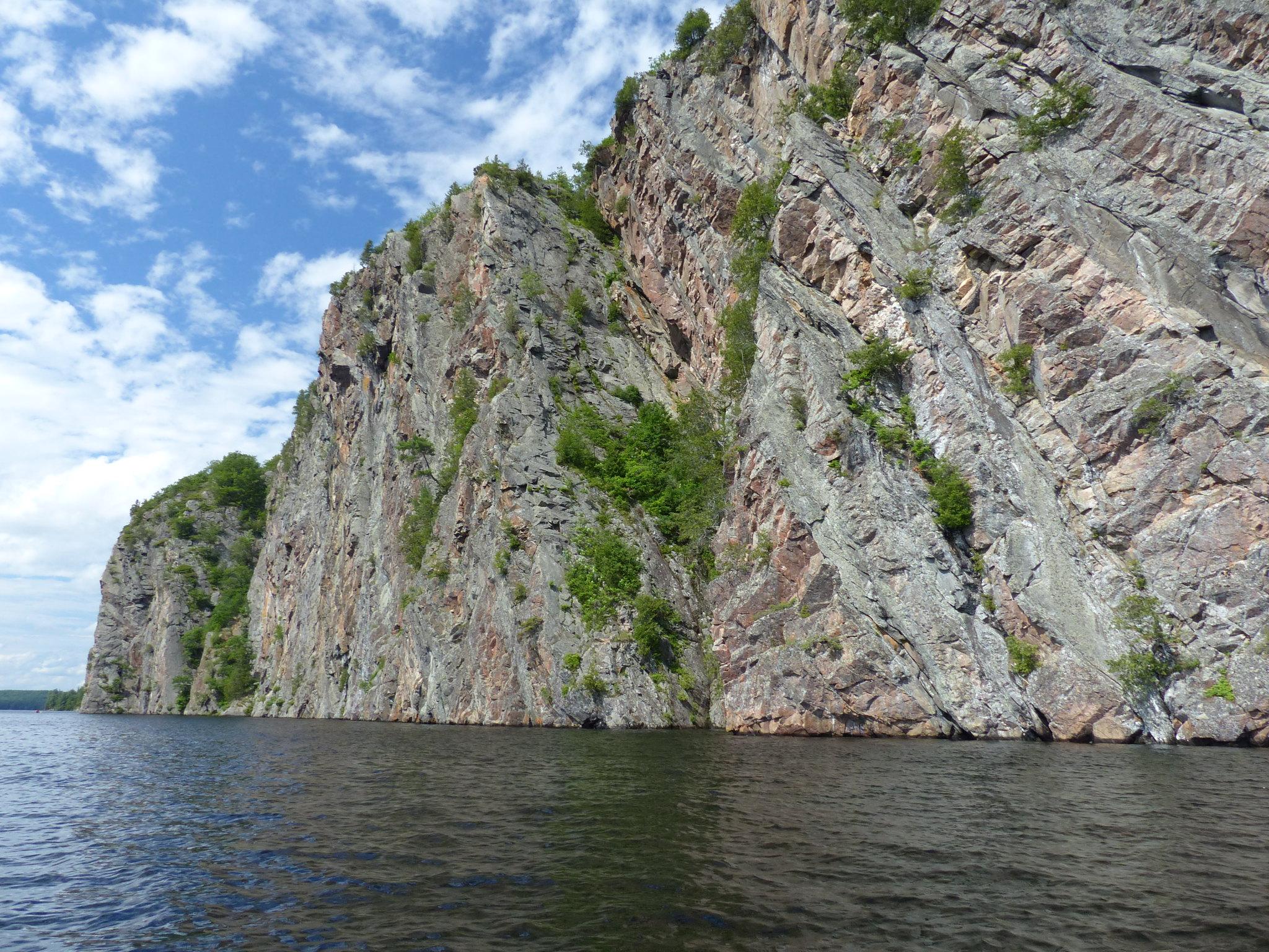 Bon Echo Provincial Park Mazinaw Rock