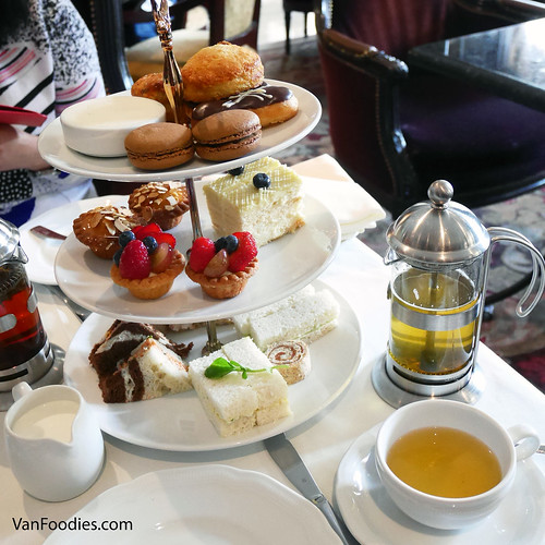 Afternoon Tea at Wedgewood Hotel