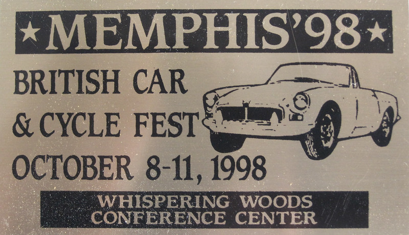 1998DashPlaque