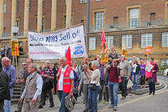 March through Norwich against the Public Sector pay cap poster size no 2