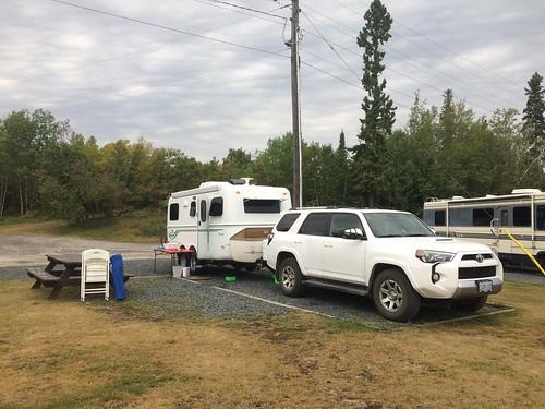 Kenora Anicinabe camping
