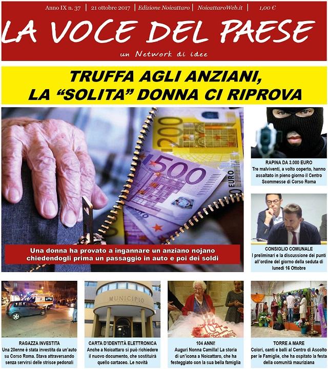 Noicattaro. Prima pagina n. 37-2017 intero