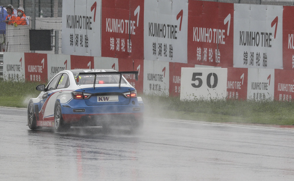 24 GLEASON Kevin (usa) Lada Vesta team RC Motorsport action   during the 2017 FIA WTCC World Touring Car Championship at Shanghai, China, ningbo,13 to 15 - Photo Frederic Le Floc'h / DPPI