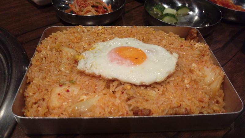 kim chi fried rice