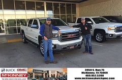 #HappyBirthday to Endy from Joshua Lewis at McKinney Buick GMC!