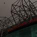Hurricane Ophelia - Red Sun over Old Trafford (Manchester United)