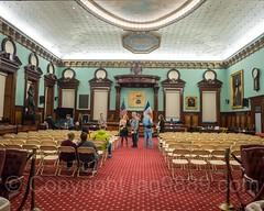 The City Council Chamber, New York City Hall, Lower Manhattan, New York City