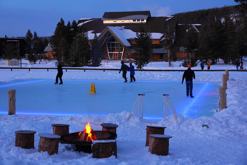 IMG_0070 Ice Rink at Old Faithful Snow Lodge