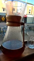A delicious santa lucia chemex