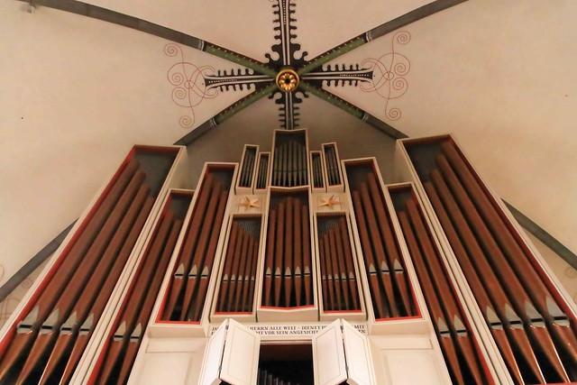 Orgel der Herrenhäuser Kirche