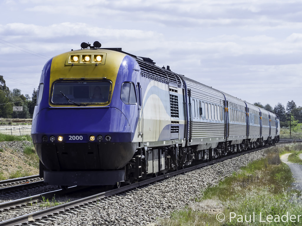 NSW Trainlink XPT XP2000 named