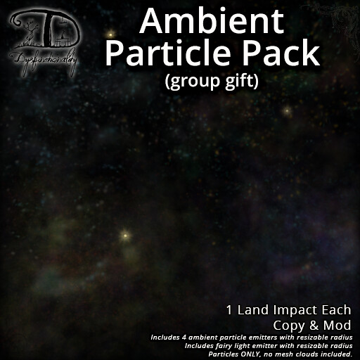 Ambient Particle Group Gift - TeleportHub.com Live!