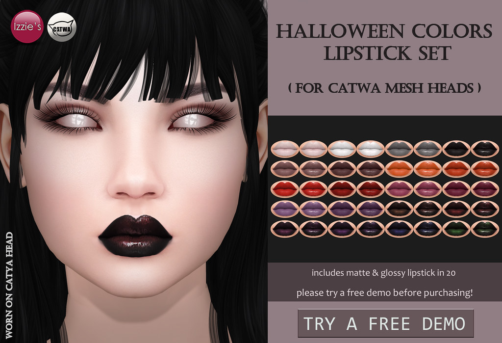 Halloween Colors Lipstick Catwa for OUAN - TeleportHub.com Live!