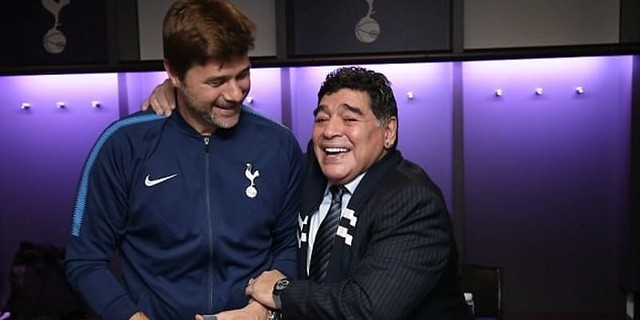 Mauricio Pochettino Memuji Perfoma Luar Biasa Timnya Di Hadapan Diego Maradona