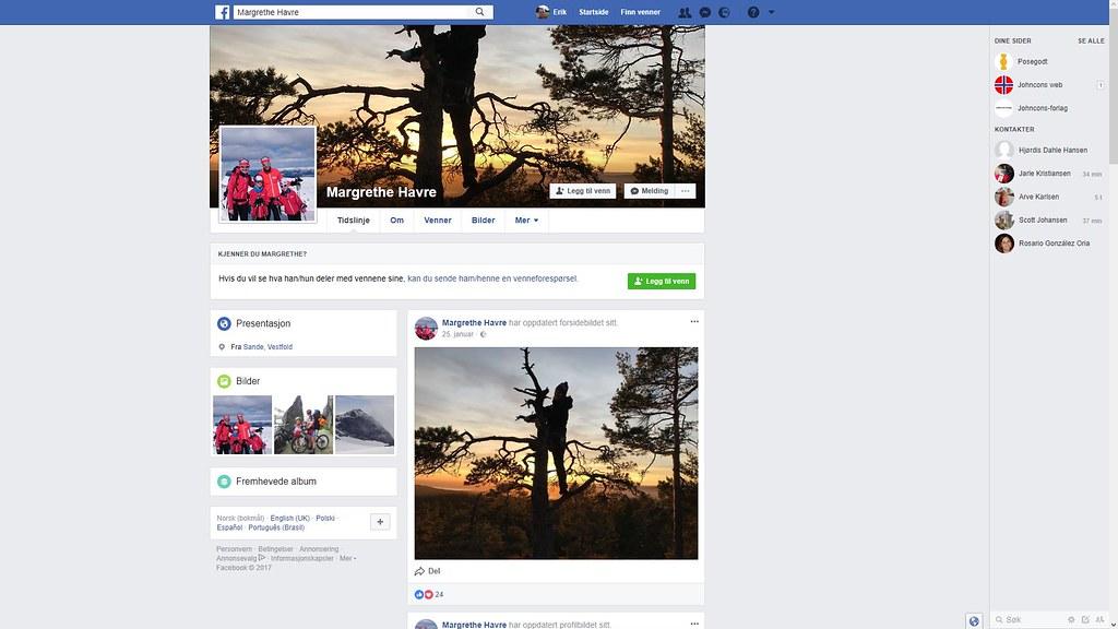mer om margrethe havre facebook