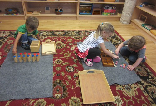 sound cylinders & number sorting tray