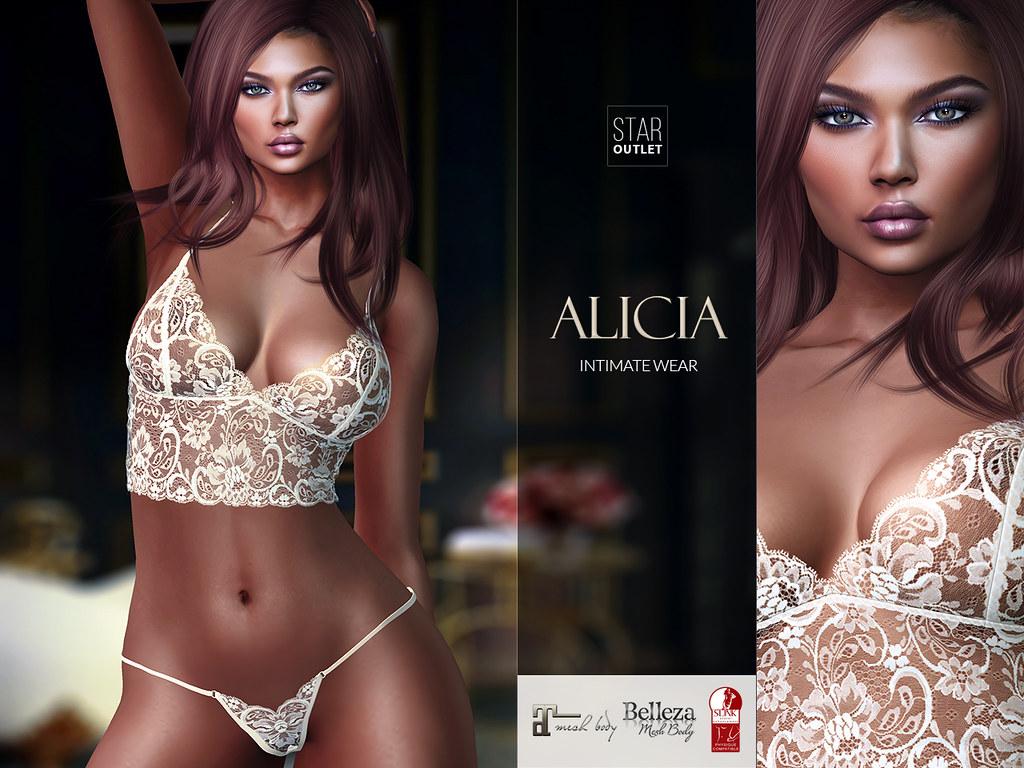 Star Outlet Lingerie Alicia Nude (Maitreya, Slink, Belleza) - TeleportHub.com Live!