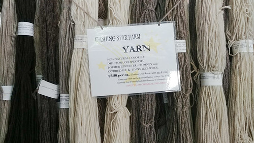 Lots of undyed wool!