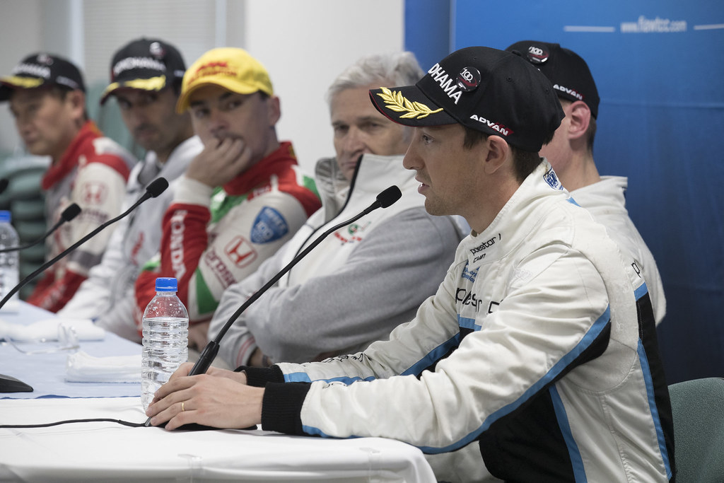 GIROLAMI Nestor (arg) Volvo S60 Polestar team Polestar Cyan Racing ambiance conference de presse press conference  during the 2017 FIA WTCC World Touring Car Championship race at Motegi from october 27 to 29, Japan - Photo Gregory Lenormand / DPPI