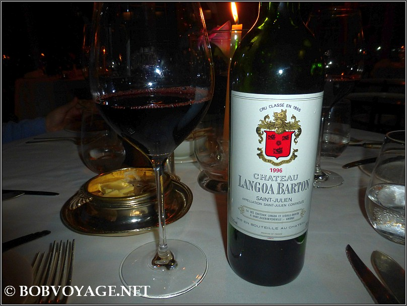 Chateau Langoa Barton 1996 at The French Horn