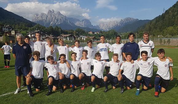 Giovanissimi Regionali 2004, Virtus - Alba Borgo Roma 0-1