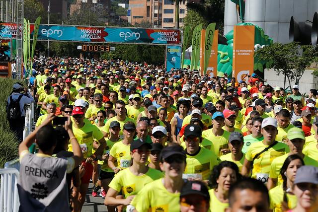 Maraton de las Flores Medellín