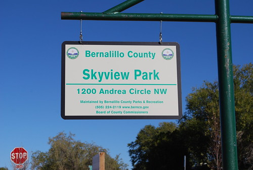Skyview Park Ribbon Cutting Ceremony