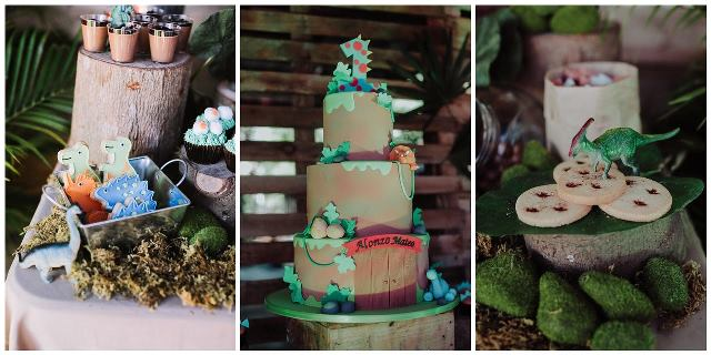 dinosaur theme party sweets (1)