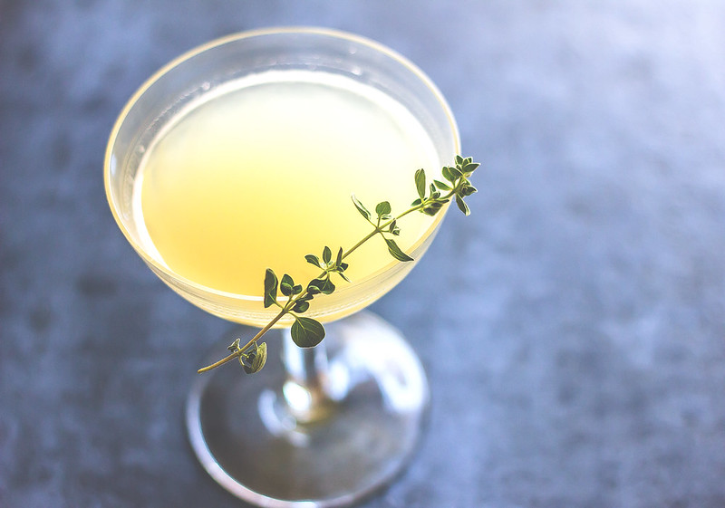 Cocktail sour with grappa and lime, best Italian recipes