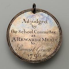 1796 Samuel Grant medal reverse - Copy