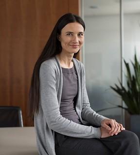Swiss banknote designer Manuela Pfrunder