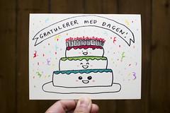 Birthday card for Arne
