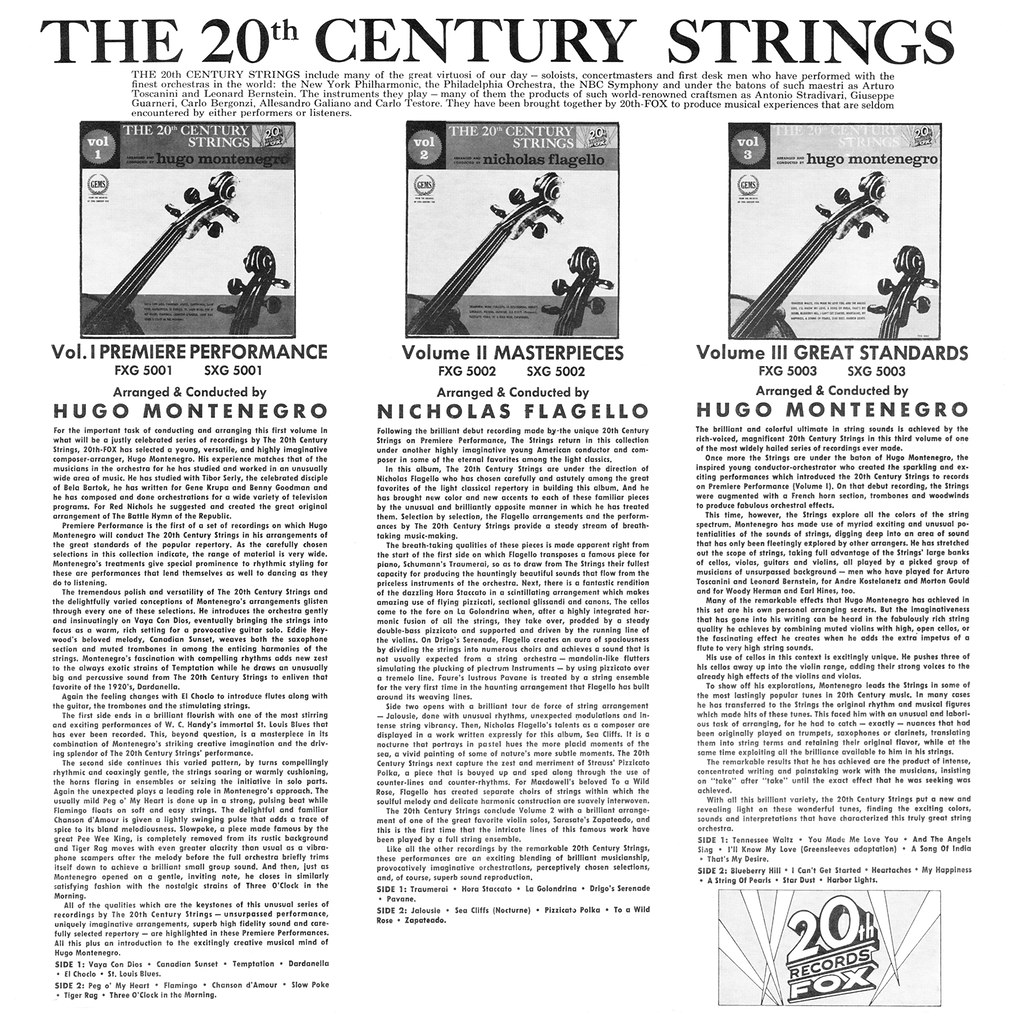 The 20th Century Strings Volume 1