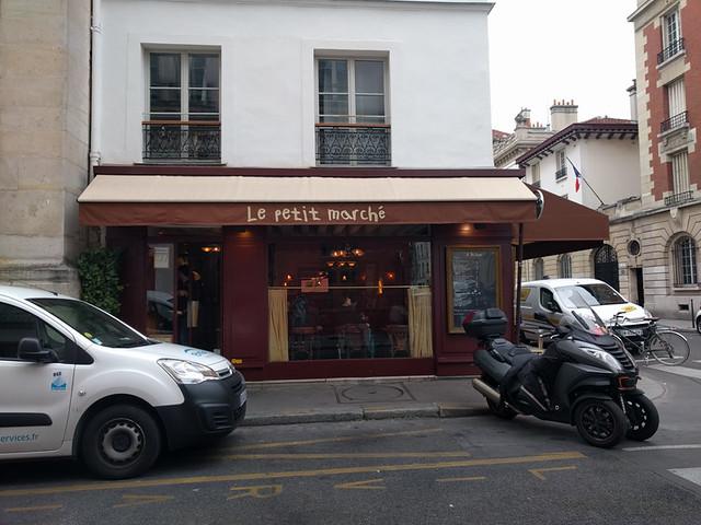 lunch @ Le Petit Marché