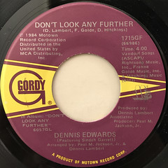 DENNIS WILLIAMS:DON'T LOOK ANY FURTHER(LABEL SIDE-A)