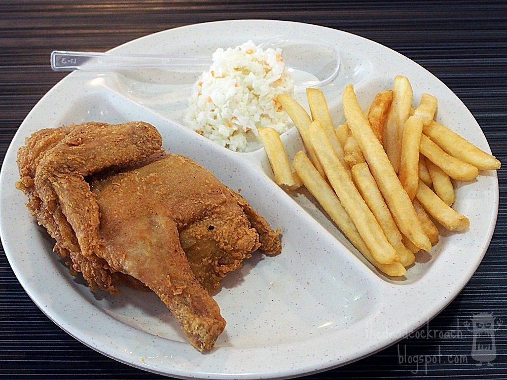 arnold's fried chicken, fast food, food, food review, fried chicken, golden village, review, singapore, yishun, yishun 10, spring chicken