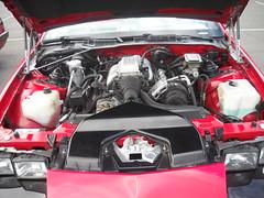 12M 1987 Chevy Camaro IROC - IRONMDN - Engine