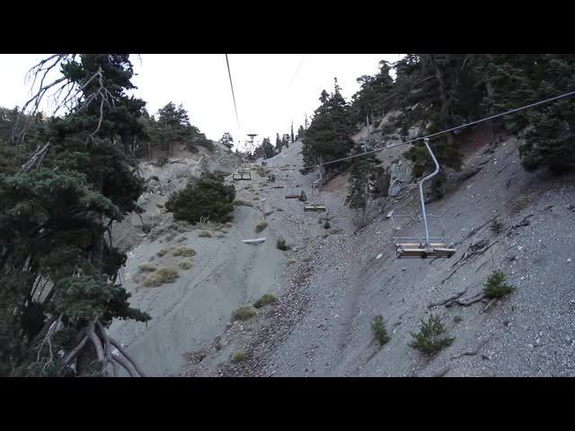 020 Video as we ascend to Baldy Notch on the Mt. Baldy Ski Lift